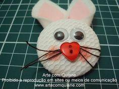 ARTE COM QUIANE - Paps,Moldes,E.V.A,Feltro,Costuras,Fofuchas 3D: Tutorial Tiara de Coelhinho da Quiane