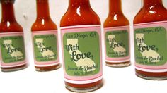 Mexico any city state or by InNonnasKitchen Chimichurri, Personalized Favors, City State, Label Design, Hot Sauce Bottles, Save The Date, Destination Wedding, Bbq, Mexico