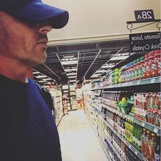 """""""First time in a very very long time I've been in a I remember why. Dominic Purcell, Grocery Store, First Time, Cinema, Instagram, Movies, Movie Theater"""
