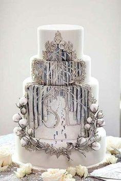 Found on WeddingMeYou.com - Unique Wedding Cake Designs