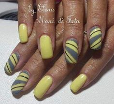 #gellak #gel #refill #yellow #yellownails #grey #greynails #squarenails #newnails #newcolor #pronails #pronailsitalia #pronailsfamily #loveyourhands #instagirl #instanails #instagood #instafollow #instalike #followme #follow4follow #follow4like #mywork #mantova #mantova2016 by manidifata.mn
