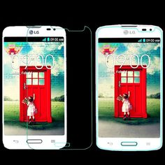 L, Clear Front Real Tempered Glass Screen Protector Protective Film For LG L70 N