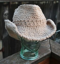 red heart cowboy crochet hat pattern free | How to Crochet baby cowboy booties « Knitting Crochet