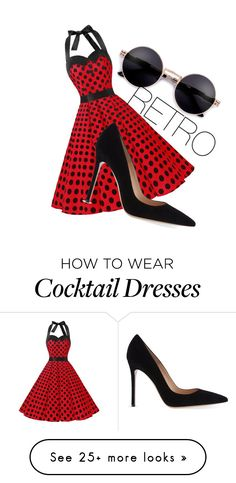 """RETRO"" by truleyme on Polyvore featuring Gianvito Rossi"