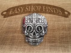 SALE  Day of the Dead Ring  El Dia De Los Muertos by EasyShopFinds