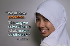 """""""We all have problems. The way we solve them is what makes us different."""" ~ Unknown #inspirational #quotes #frustrations #learning #growth"""