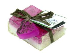 - Description - Directions - The wonderful scent of fresh cut roses in a half and half shea butter and aloe & olive oil soap. This is a wonderful, romantic and feminine soap, sure to please even the p