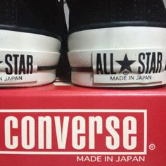Converse All Star Suede Vintage Made in Japan