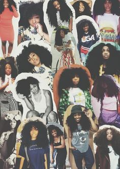 SZA aka The Queen . I LOVE  who made this hahaa your AWSOME lol