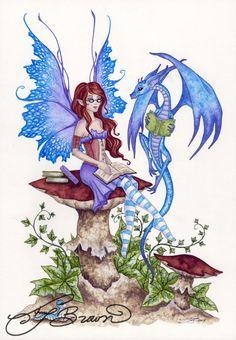 Fairy Art Artist Amy Brown: The Official Online Gallery. Fantasy Art, Faery Art, Dragons, and Magical Things Await. Fantasy Kunst, Fantasy Art, Elves Fantasy, Elfen Tattoo, Amy Brown Fairies, Dark Fairies, Fairy Drawings, Fairy Tattoo Designs, Kobold