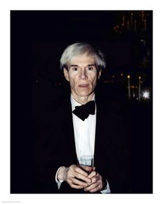"""Andy Warhol (by Peter Warrack) - Limited Edition, Archival Print - 16x20"""""""