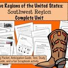 Learn about the Southwest region of the United States!This is a complete unit for teaching about