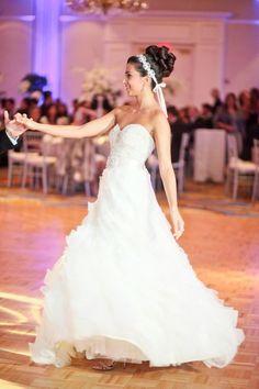 My dream LAZARO dress is at Bisou Bridal! KAMILA G