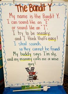 1st grade cute Poem and activity for the Y sound