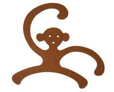 childrens clothing hangers to make on scroll saw Baby Coat Hangers, Baby Clothes Hangers, Kids Hangers, Woodworking Projects That Sell, Woodworking Toys, Disney Lamp, Wood Projects, Projects To Try, Laser Cutter Projects