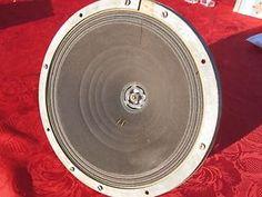 "1 FieldCoil BIG Speaker FullRange Klangfilm Telefunken Siemens10.5"" Works 30's | eBay"