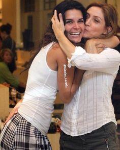 Angie Harmon ✾ and Sasha Alexander ✾ Wednesday Hump Day, Morticia Addams, Angie Harmon, Besties, Cinema, Actresses, Couple Photos, My Love, Celebrities