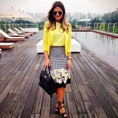 Printed Skirt - Thassia Naves