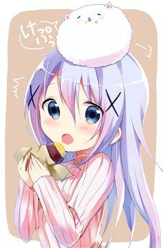[Beautiful Lady]Sweet potato. [Gochuumon wa Usagi Desu ka?]