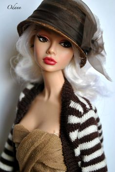 Cute doll with a hat