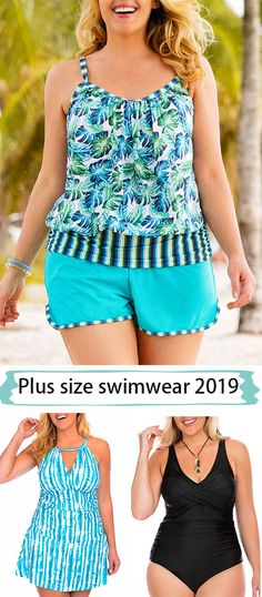 eed2019e35 plus size, printed, casual, summer outfit, swimwear Wearing favorite  swimwear to enjoy your holiday. Chris Thomson · Plus Size Resort Wear