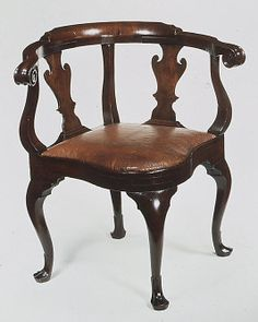 Corner Chair / 1740-60 / Attributed to Joseph Armitt