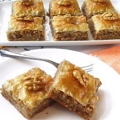 + images about Baklava & Greek Phyllo Pastry on Pinterest | Chocolate ...