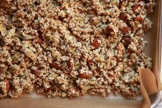 Gluten-Dairy-Cane Sugar Free Homemade Granola. * a friend made this once and it was very tasty!
