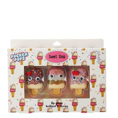 <P>Add these special candy themed Pucker Pops lip glosses. Packaged in an…