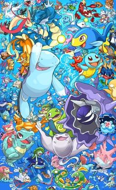 Water Types of Pokemon
