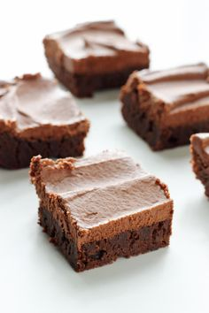 Classic Fudge Brownies with Milk Chocolate Frosting!!