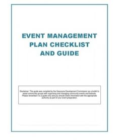 Business plan for an event