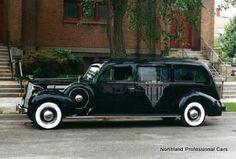 1938 Brantford Henney Packard Formal 3-way hearse