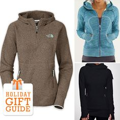 15 Hoodies That Make Great Holiday Gifts: Who doesn't love a hoodie? You can bundle up in one at home, use it as an extra layer during an outdoor workout, or cover up in one after leaving a yoga class. With so many practical uses, hoodies also make a great gift —let's be real, you can never have too many of them! Check out which ones we're spying for our loved ones this holiday season.