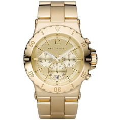 azeeya:    MICHAEL Michael Kors watch ❤ liked on Polyvore (see more michael kors)