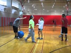 Hand Hockey Physical Education Game - YouTube