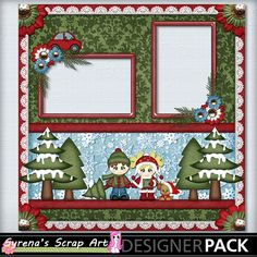 A fun Christmas Quick Page! #Digital #Scrapbooking