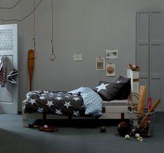 Dekbedovertrek 1-pers. Orion grey De leukste Dekbedden voor de kinderkamer bij Saartje Prum.