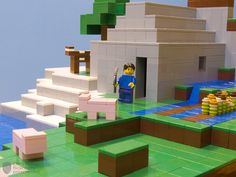 Minecraft lego - will need to look into for nephew:)