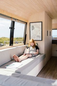 A Scandi-style surf van with a plan   homestyle Vw Camping, Camping Set Up, Minivan Camping, Camper Interior Design, Motorhome Interior, Bus Interior, Camper Caravan, Camper Life, Mini Camper