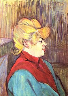 Woman Brothel by Henri Toulouse-Lautrec