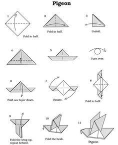 Feb 2020 - Easy Origami Diagrams Origami Dove Printable Instructions Origami Dove Printable Instructions Best Origami Birds Ideas On Easy Origami Fish Diagrams Origami Bird Easy, Origami Owl Core, Origami Dove, Origami Simple, Origami Cat, Kids Origami, Origami Paper Art, Origami Fish, Useful Origami