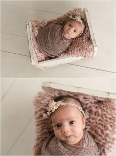 Older newborn photo - baby in purple Newborn Photography Props, Newborn Photos, Baby Photos, Photography Ideas, Cute Baby Girl, Cute Babies, Big Brown Eyes, Photo Baby, Heart Melting