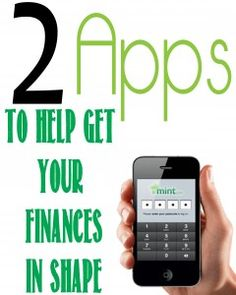 2 helpful apps to get your finances organized.