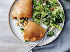 Broccoli, Cheddar, and Ranch Chicken Calzones