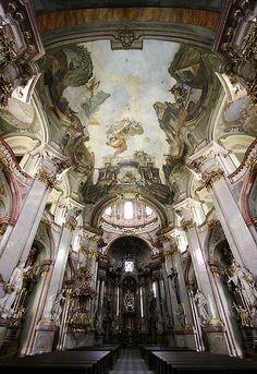 | ♕ | Baroque in Prague - St. Nicholas Church altar | by © Pierre Richer