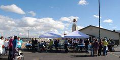 Over 100 show support for Spokane's Muslim community - SpokaneFāVS