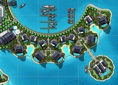 Middle Eastern Villa Resort