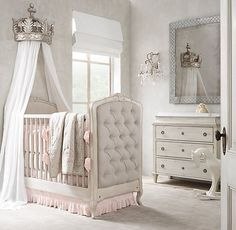 Frayed Ruffle & Ikat Nursery Bedding Collection