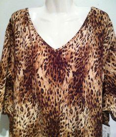 NWT LIZ & ME Cotton Knit Long Tunic Top Plus Size 4X 30/32   eBay
